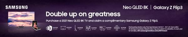 Samsung 8K and Galaxy X Flip 3 Promotion