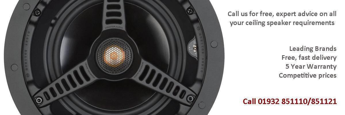 ceiling speakers - in-ceiling speakers - weybridge audio