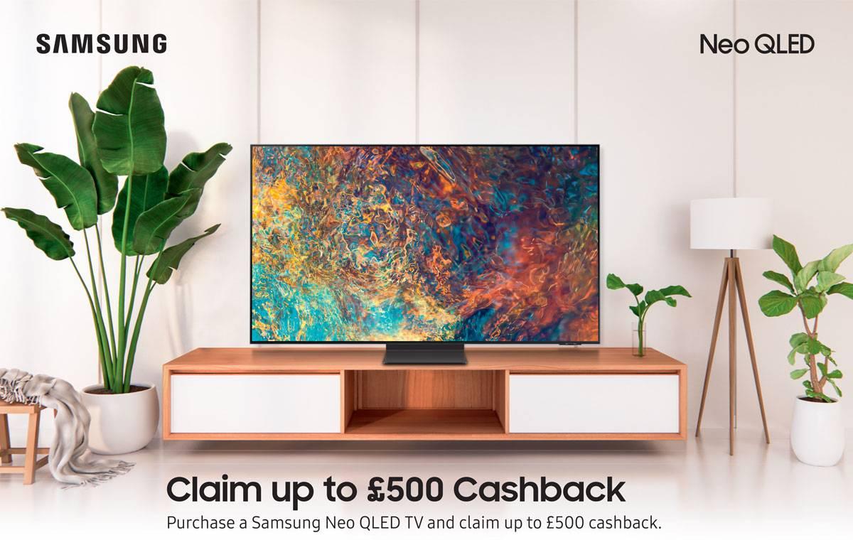 Samsung Neo QLED TV Cashabck