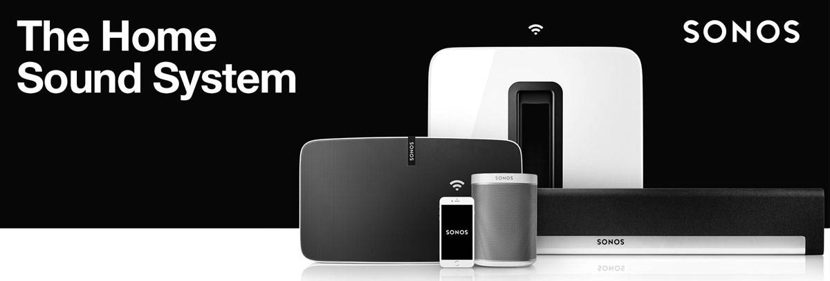 Sonos Digital Music Systems - Sonos - Weybridge Audio