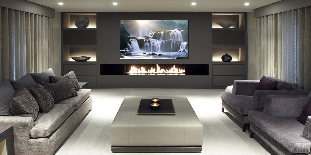 Home Cinema and media room