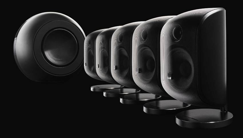 Bowers Amp Wilkins Mt60d 5 1 Home Theatre Speaker Package