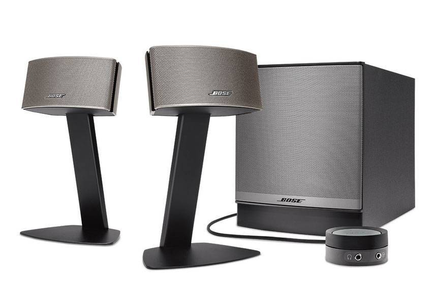 bose companion 50 multimedia speaker system companion 50 weybridge audio. Black Bedroom Furniture Sets. Home Design Ideas