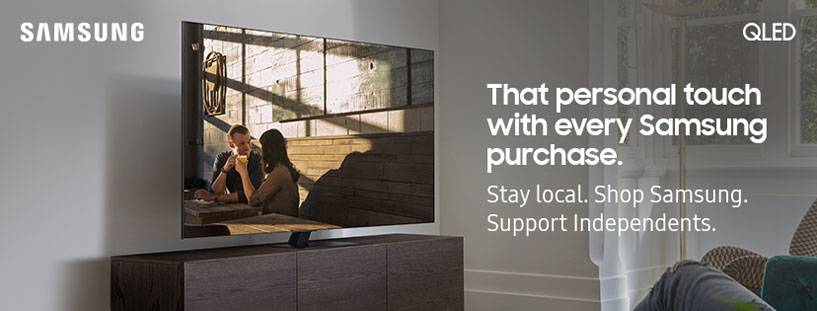 Stay Local, Shop Samsung