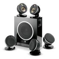 Focal Dome Flax 5.1 System Black