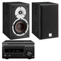 Denon D-M41DAB With Dali Spektor 2 Speakers