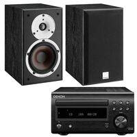 Denon DM41DAB Black with Dali Spektor 2 Black