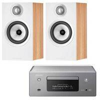 Denon Ceol RCD-N11 with Bowers & Wilkins 607 S2 Grey