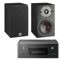 Denon RCD-N11 With Dali Oberon 1 Black