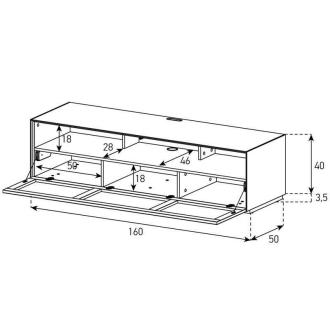 Project PRO1600F dimensions