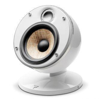 Focal Dome Flax Satellite Speaker With Grille Off White