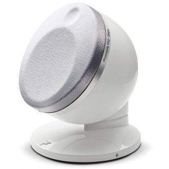 Focal Dome Flax Satellite Speaker With Grille On White