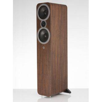 Q Acoustics 3050i English Walnut Angled View