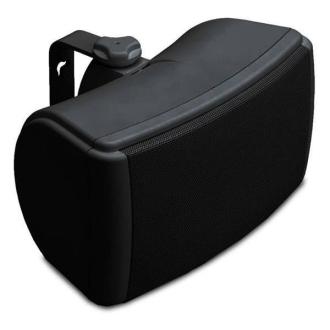 Q Install Qi45EW Black Single Speaker