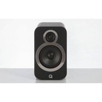 Q Acoustics 3020i Carbon Black Front View