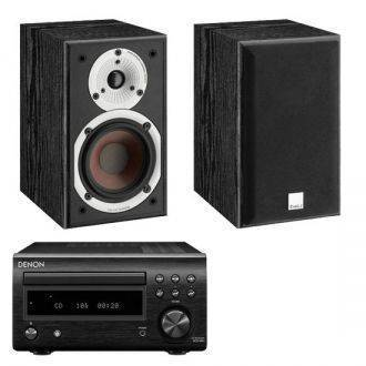 Denon D-M41DAB With Dali Spektor 1 Speakers