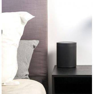 Yamaha MusicCast 20 Black On Bedside Table