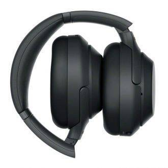 Sony WH1000XM3 Wireless Noise Cancelling Headphones Folded For Storage