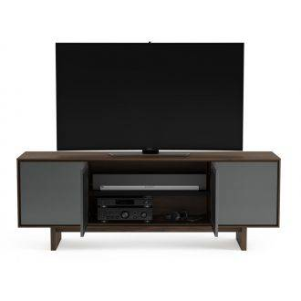 BDI Octave 8379 Walnut With Centre Doors Open