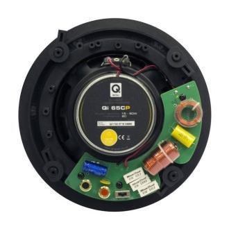 Q Acoustics Qi65CP Rear View