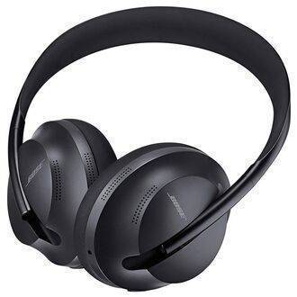 Bose Noise Cancelling Headphones 700 Black Angled View