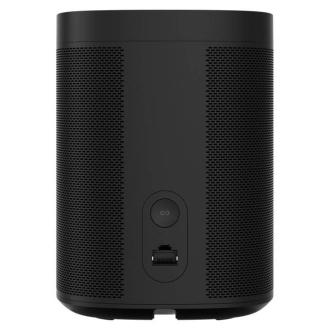 Sonos One SL Black - Rear View