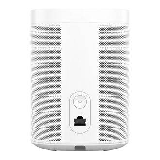 Sonos One White - Rear View