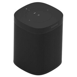 Sonos One Gen 2 Black Angled View