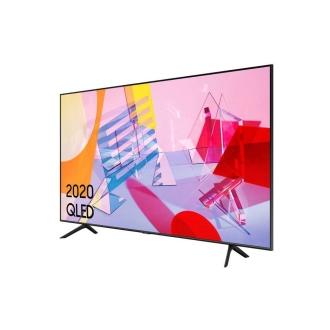 """Samsung QE55Q60T 55"""" QLED 4K Quantum HDR Smart TV Side Angle View"""