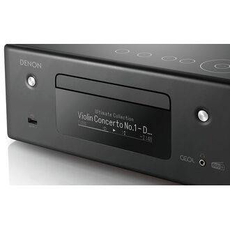 Denon Ceol RCD-N11DAB Black Detailed View