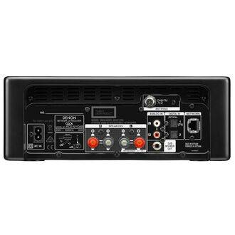 Denon Ceol RCD-N11DAB Black Rear View