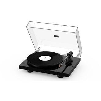 Pro-Ject Debut Carbon Evo With Lid Attached