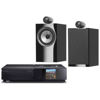 Naim Uniti Star with Bowers & Wilkins 705 S2 Speakers