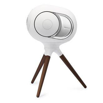 Devialet Treepod Iconic White Side View