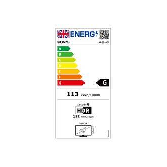 Sony XR55A90J Energy Label