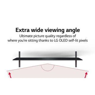 LG OLED55A16LA Wide Viewing Angle