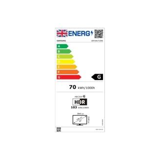 Samsung UE43AU7100 Energy Consumption