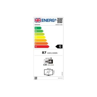 Samsung UE50AU7100 Energy Consumption
