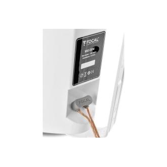 Focal 100 OD6 White Speaker Wire Terminals