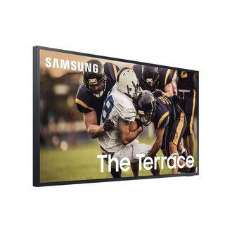 Samsung 'The Terrace' QE65LST7T Angled View
